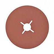 Disque abrasif Universal support meuleuse, ø125 mm - 5 pièces, Grain 80