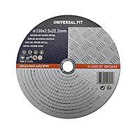 Disque de coupe métal 230x2,5x22,2mm Universel fit