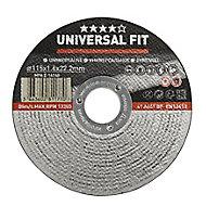 Disque de coupe métal Universel 115x1,6x22,2mm