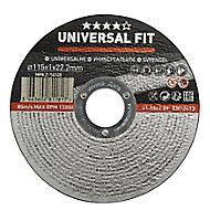 Disque de coupe métal Universel 115x1x22,2mm