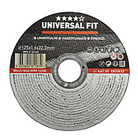 Disque de coupe métal Universel 125x1,6x22,2mm