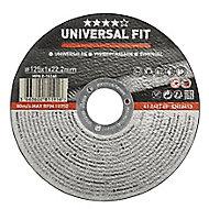Disque de coupe métal Universel 125x1x22,2mm