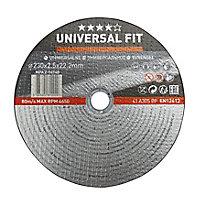 Disque de coupe métal Universel 230x2,5x22,2mm