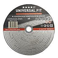 Disque de coupe métal Universel 230x2x22,2mm - 5pièces