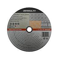 Disque de coupe multi 230x1,6x22,2mm Universel fit