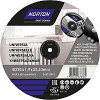 Disque de coupe multi Norton 230x1,6x22,2mm