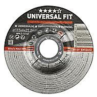 Disque de meulage métal Universel 115x6x22,2mm