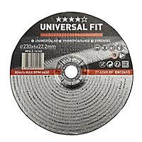 Disque de meulage métal Universel 230x6x22,2mm
