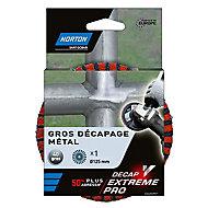Disque de meuleuse Decap Extrem Pro Ø125mm Norton - Grain 80
