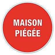 """Disque de signalisation """"Maison piégée"""" Ø17"""