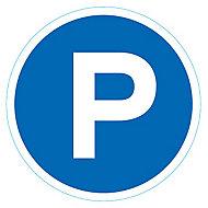 """Disque de signalisation """"Parking"""" Ø28"""