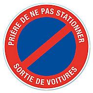 """Disque de signalisation """"Sortie de voiture"""" Ø28"""