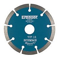Disque diamant discontinu Erbauer 115x22,2mm