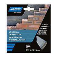 Disque diamant discontinu Norton 125x22,2mm