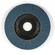 Disque lamelle zirco Mac Allister Ø125 mm - Grain 120