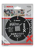 Disque à tronçonner multimatériaux Bosch X-Lock 115 mm