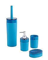 Distributeur de savon plastique bleu COOKE & LEWIS Doumia