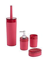 Distributeur de savon plastique rose COOKE & LEWIS Doumia