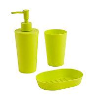 Distributeur de savon plastique vert Cooke & Lewis Palmi