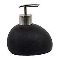 Distributeur de savon résine noir COOKE & LEWIS Erione