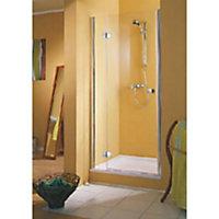 Dotée d'un traitement anticalcaire, la porte de douche pivotante à ouverture à gauche de 120 cm MasterClass II se fondra dans le décor de votre salle de bains en alliant modernité et sécurité.