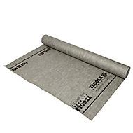 Ecran sous-toiture HPVR2 Diall gris clair 1,5 x 50 m (vendu au rouleau)
