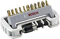 Embout Bosch 11 pièces TIN + Quick change