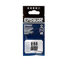Embout de vissage torsion impact TX25 25mm Erbauer - 3 pièces