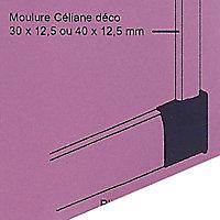 Embout sabot gauche pour plinthe CELIANE Déco blanc 82 x 12,5 mm Legrand