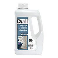 Emulsion brillante sols plastiques et carrelages Diall 1L