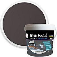 Enduit béton magnétique Résinence mercure noir 2kg