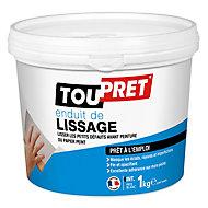 Enduit de lissage prêt à l'emploi Toupret 1kg