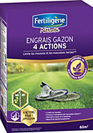 Engrais gazon 4 actions Fertigène 60m²