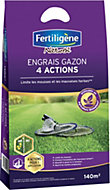 Engrais gazon 4 actions Fertiligène 140m²