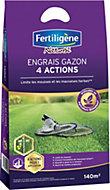 Engrais gazon 4 actions Fertiligène 140m²