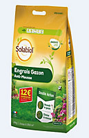 Engrais gazon anti-mousse Solabiol 350m²