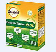 Engrais gazon Plus Solabiol 2,5kg