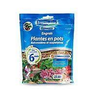 Engrais plantes en pots, balconnières, suspensions