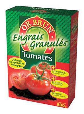 Engrais Tomates Or Brun 800g Castorama
