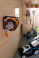Enrouleur de jardin Diall 47/3M H05VVF 3G1 5mm²