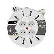Enrouleur ménager Diall HO5VVF 3G1mm² 10m