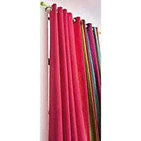 Ensemble barre à rideau extensible Colours Mikio chlorophylle 120/210 cm
