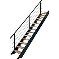 Escalier droit bois Spark Led 13 marches chêne