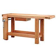 Etabli en bois professionnel 1,50 m