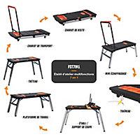 Etabli multifonction 7 positions Feider