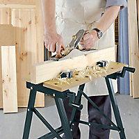 Etabli pliant mobile 100kg - 56 cm