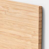 Etagère magnétique GoodHome Pecel bambou H. 21 x P. 33,5 cm