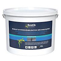 Etanchéité Bostik Enduit d'Imperméabilisation Bitumineuse Séchage Rapide 10L