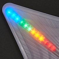 Etoile lumineuse Led multicolore