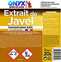 Extrait de javel 36° Onyx 20L